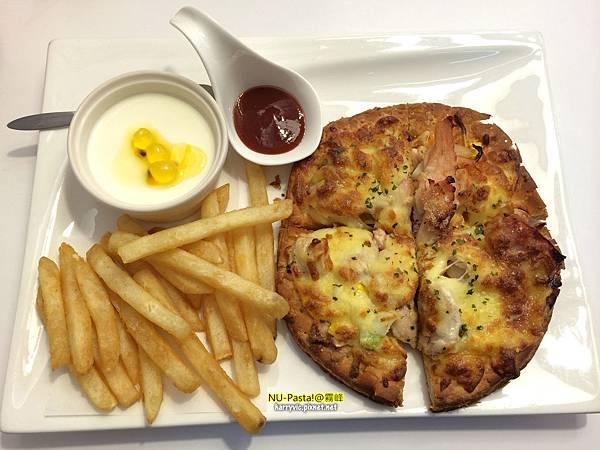 義式綜合披薩套餐