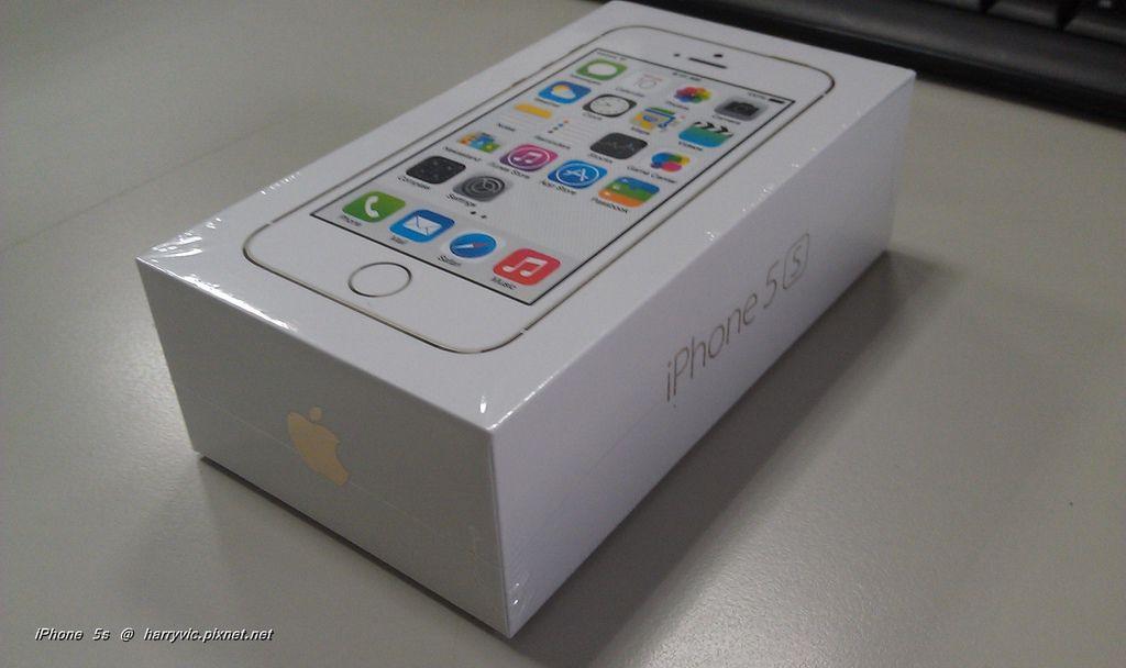 iPhone 5s 包裝盒