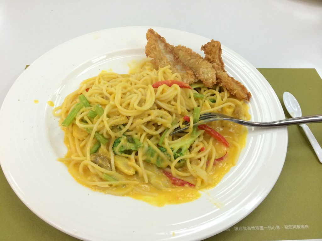 All in Pasta-托巴哥南瓜魚排義大利麵