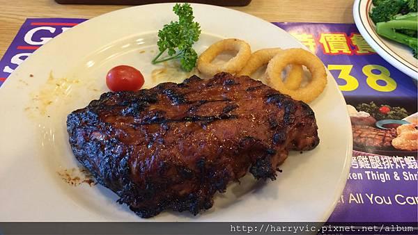 美式烤豬肋排