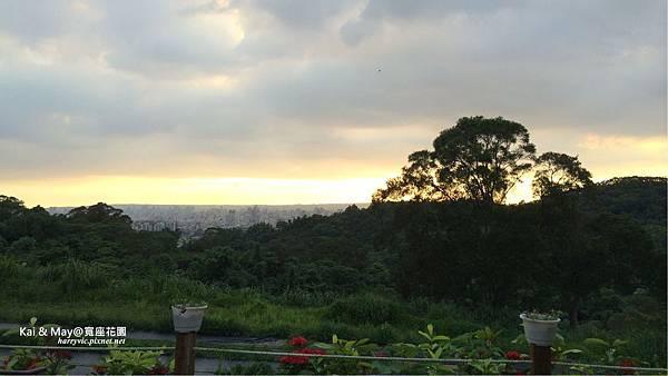 寬座花園-夕陽