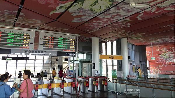 苗栗車站-驗票出入口