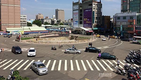 苗栗車站前廣場