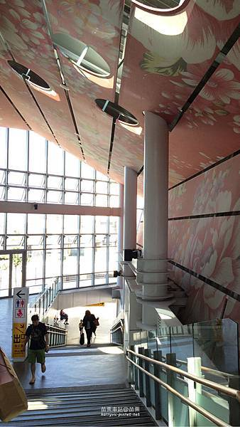 苗栗車站-前階梯
