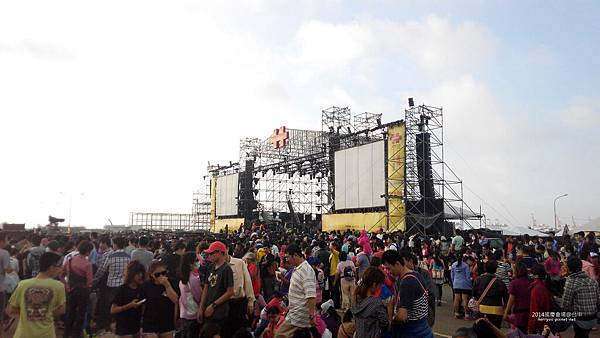 2014台中國慶晚會會場