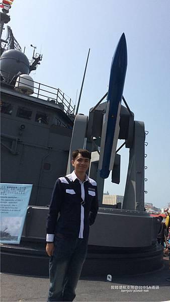 104敦睦遠航支隊-飛彈
