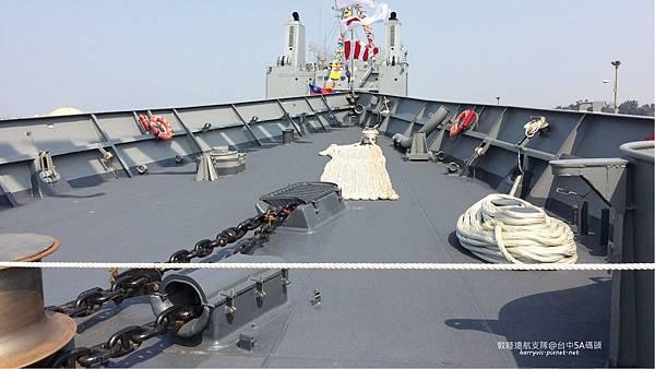 104敦睦遠航支隊-艦首