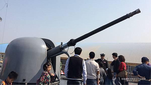104敦睦遠航支隊-後高砲