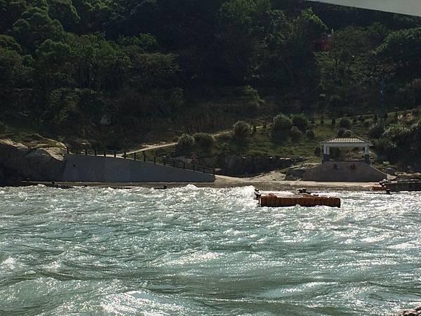大坵港滿潮