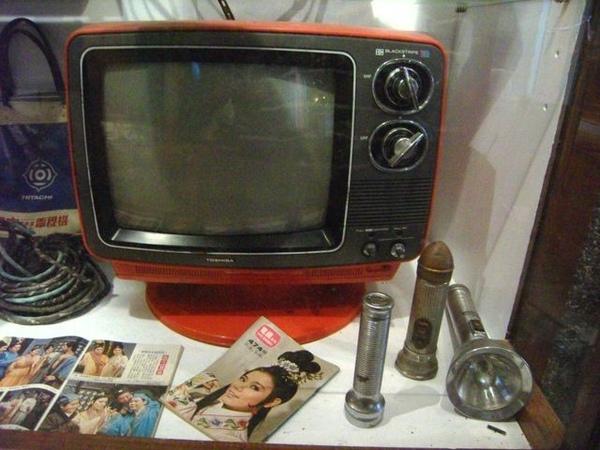 小電視和手電筒