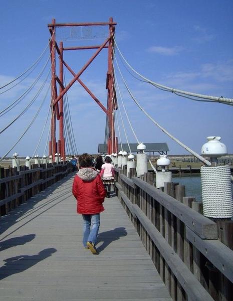 七股鹽山小橋