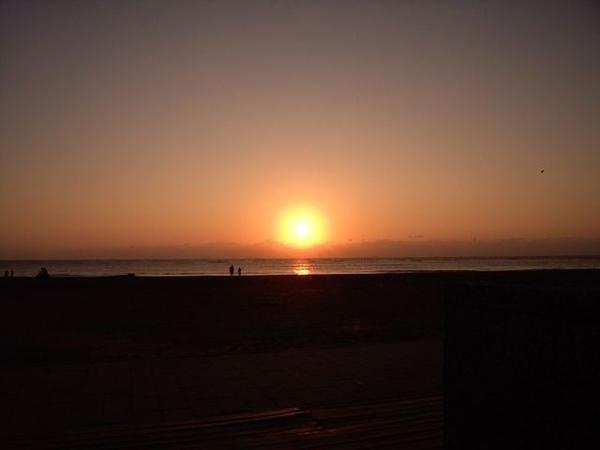 夕陽下光輝