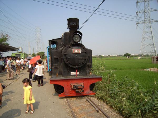 真的蒸氣火車哦