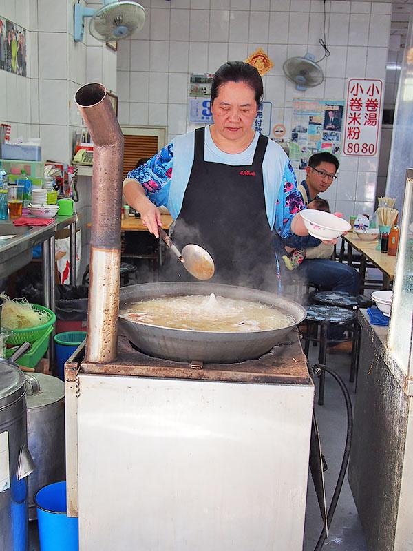 台南葉家小卷米粉1