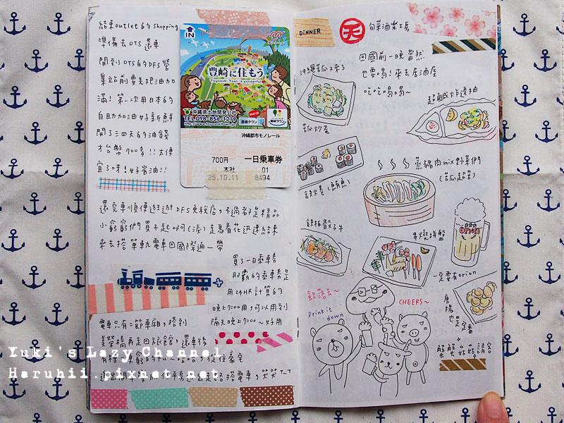 沖繩旅遊手帳20