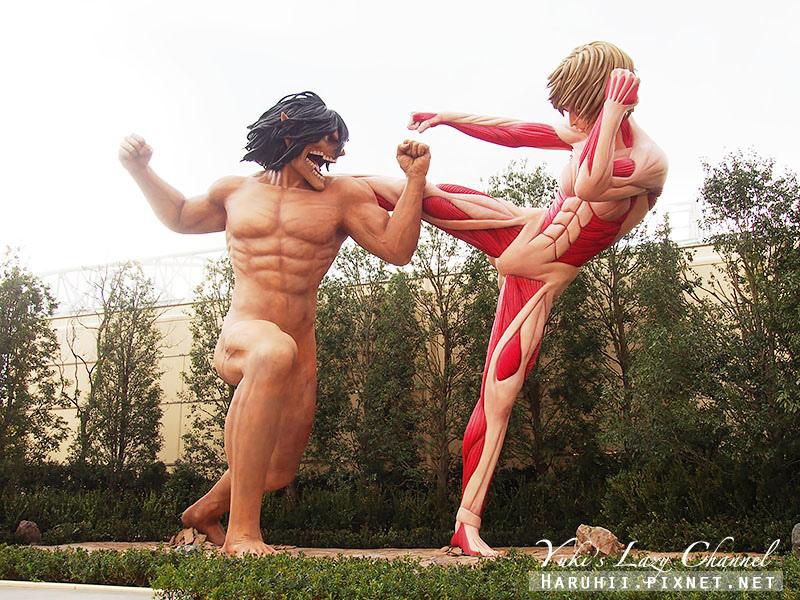 大阪USJ環球影城進擊的巨人