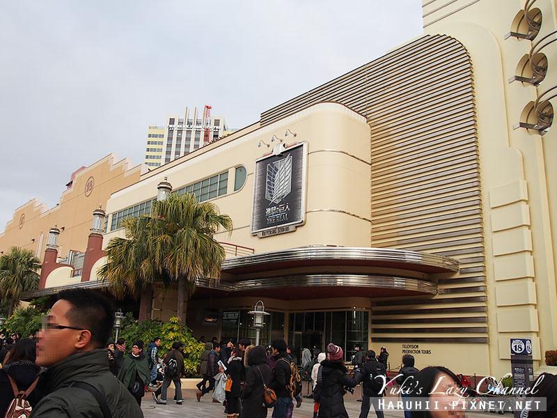 大阪USJ環球影城進擊的巨人8