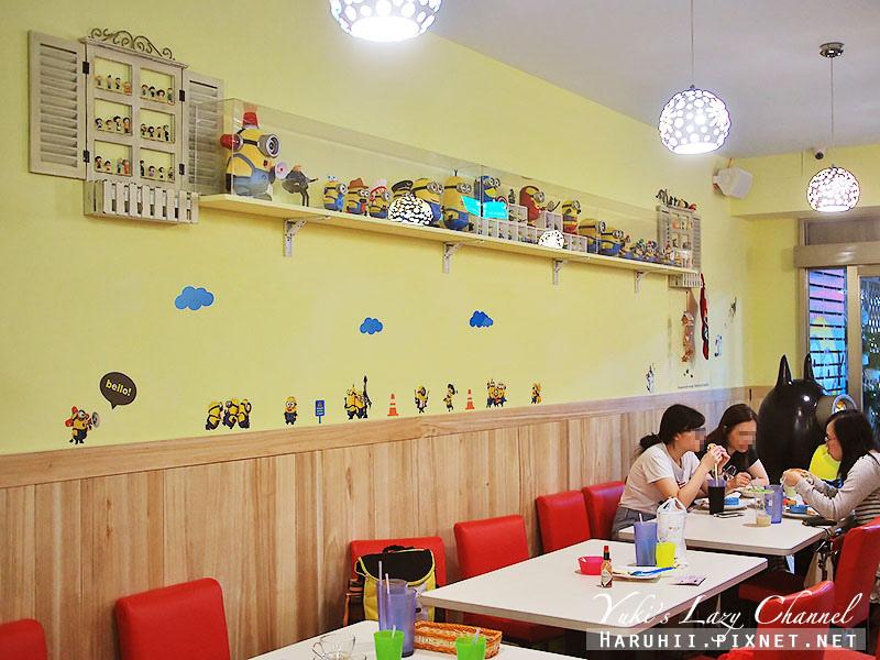 兵工廠美式漢堡小小兵餐廳18