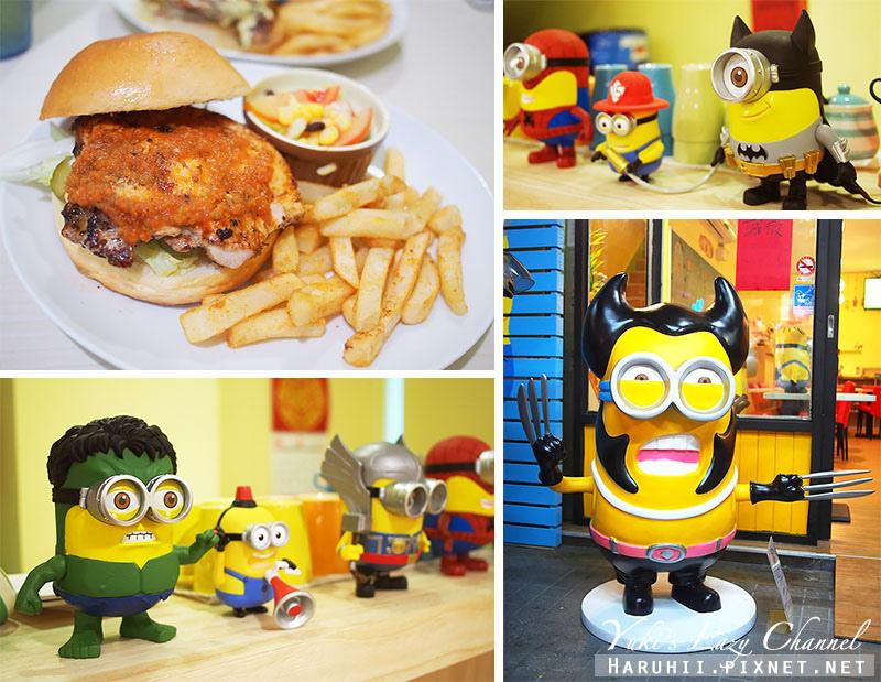 兵工廠美式漢堡小小兵餐廳35