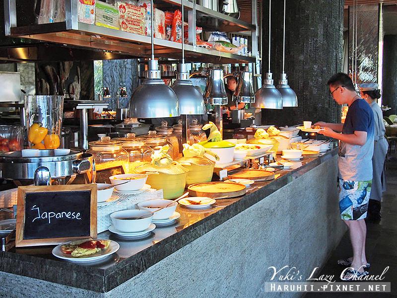 Rimba jimbaran bali峇里島金巴蘭森林酒店早餐