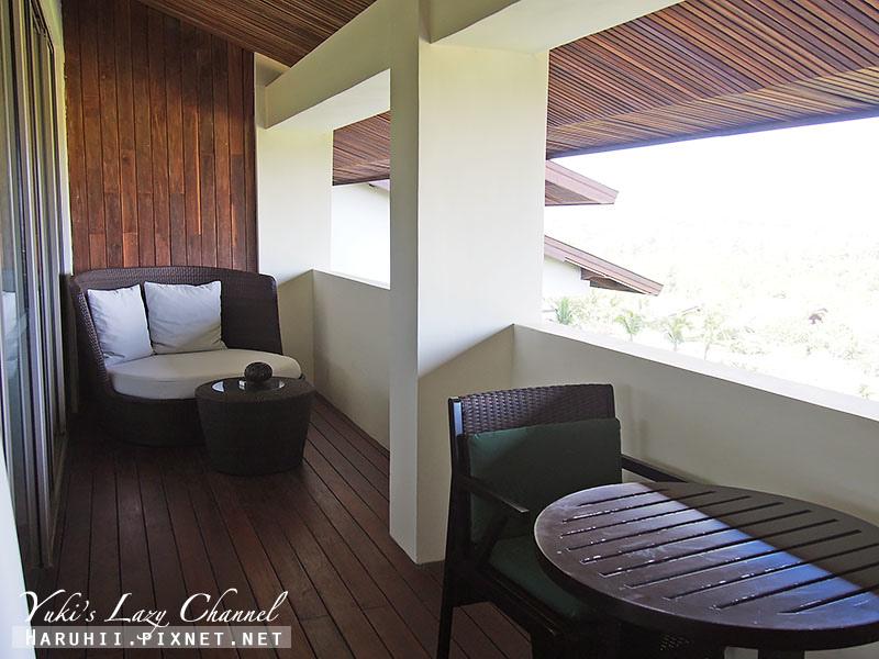 Rimba jimbaran bali峇里島金巴蘭森林酒店客房陽台