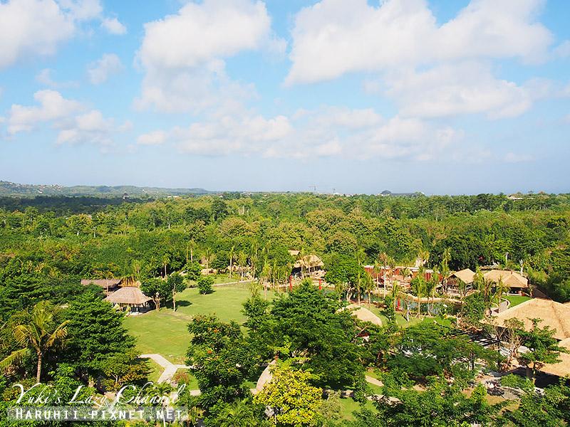 Rimba jimbaran bali峇里島金巴蘭森林酒店客房view