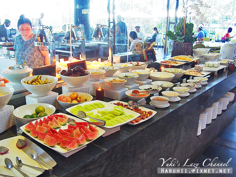 Rimba jimbaran bali峇里島金巴蘭森林酒店to'ge早餐2