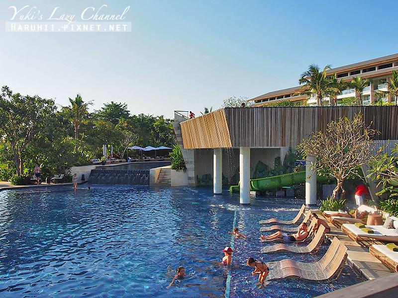 Rimba jimbaran bali峇里島金巴蘭森林酒店泳池1