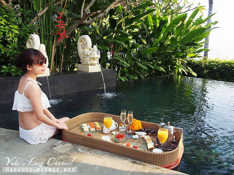 AYANA Resort VILLA漂浮早餐3