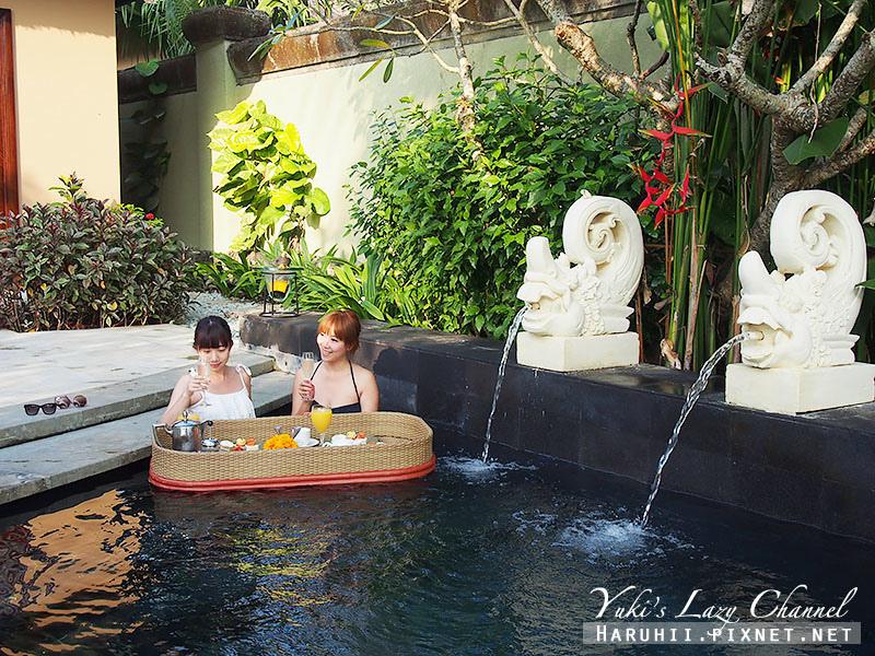 AYANA Resort VILLA漂浮早餐4