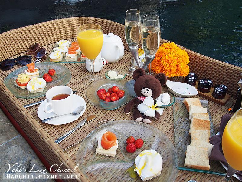 AYANA Resort VILLA漂浮早餐5