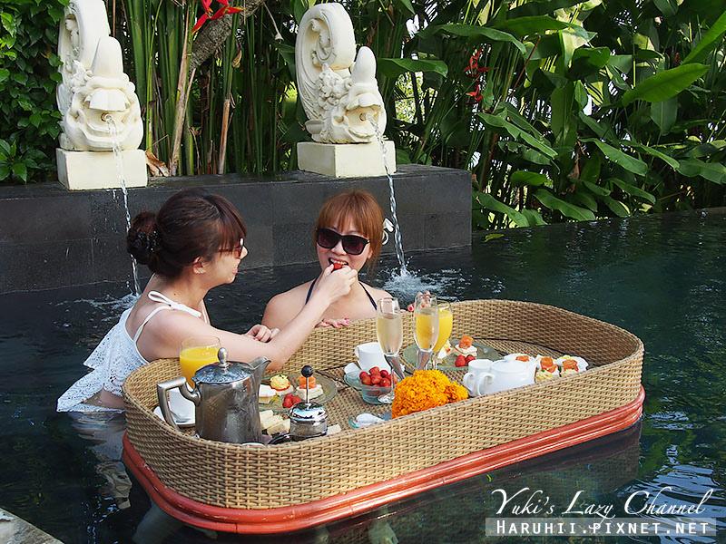 AYANA Resort VILLA漂浮早餐6