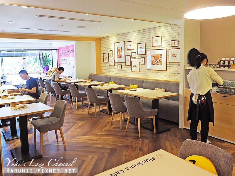 RilakkumaCafe拉拉熊咖啡廳4