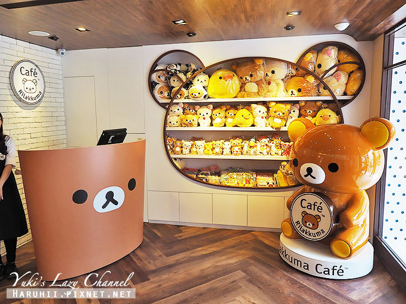 RilakkumaCafe拉拉熊咖啡廳23