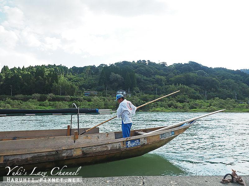 人吉球磨川泛舟遊船20
