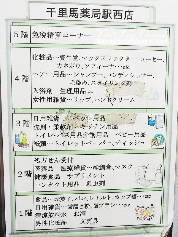名古屋必買藥妝千里馬藥局5