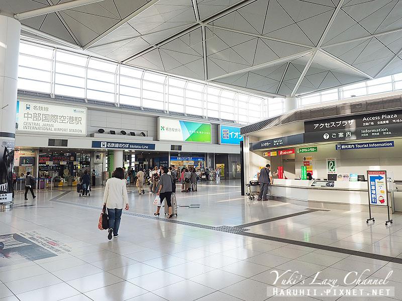 名古屋中部國際機場購物交通攻略1