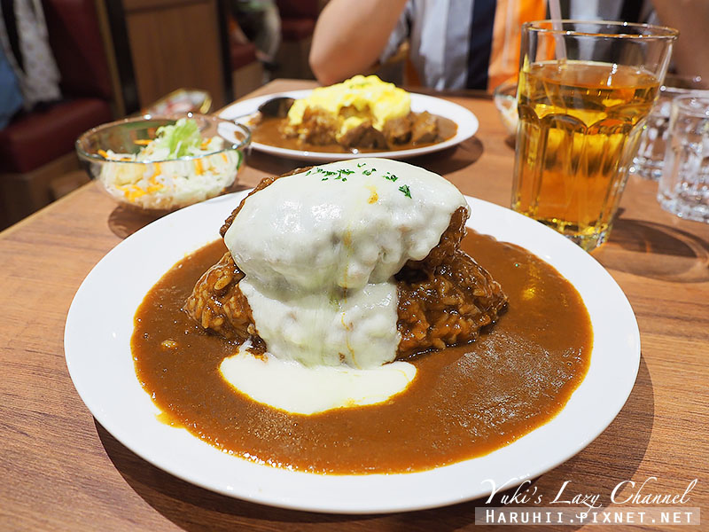 京站IZUNICURRY漢堡排咖哩飯18.jpg