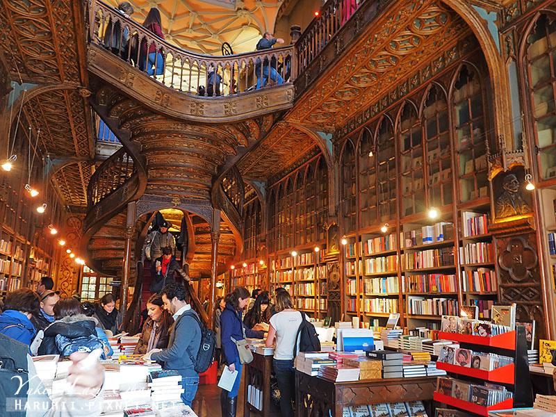 世界最美書店葡萄牙porto萊羅書店Livraria Lello5