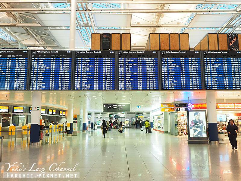 德國漢莎航空香港-慕尼黑10