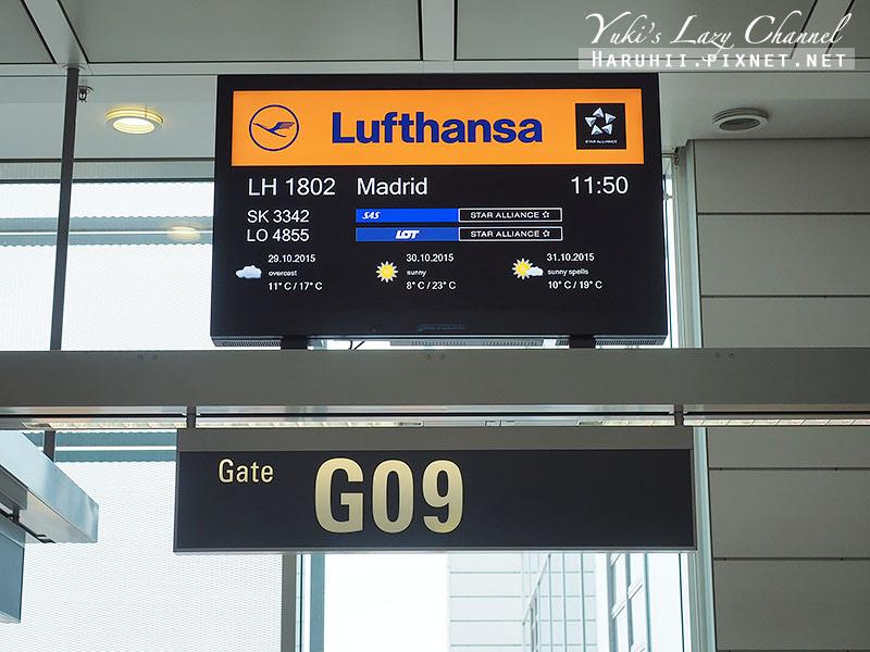 德國慕尼黑機場漢莎航空5