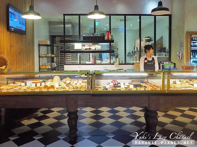 內湖美食PAUL麵包沙龍晚餐1