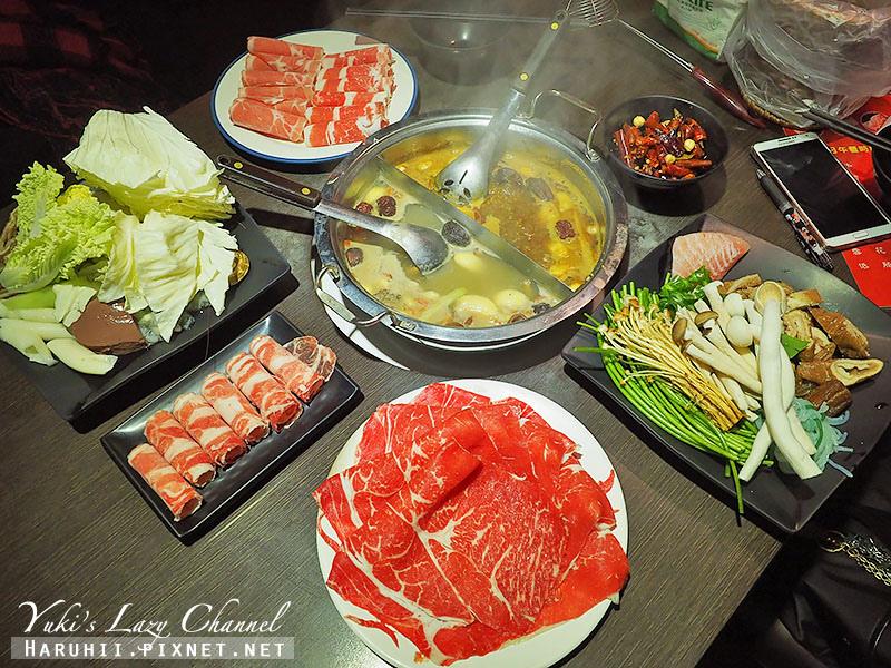 東區美食蒙古紅蒙古火鍋鴛鴦麻辣鍋吃到飽