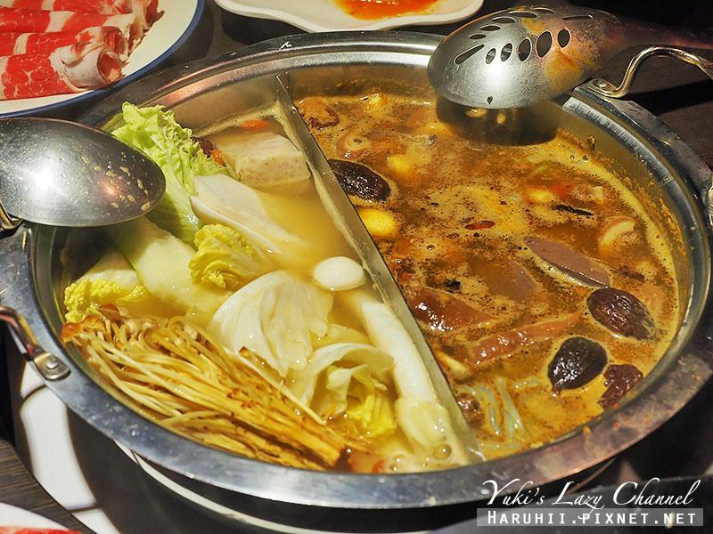 東區美食蒙古紅蒙古火鍋鴛鴦麻辣鍋吃到飽34