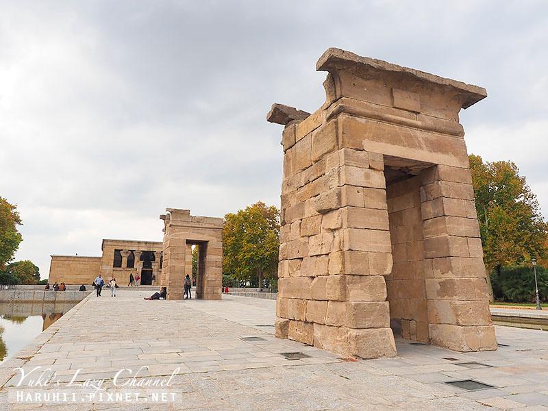 馬德里景點埃及德波神殿