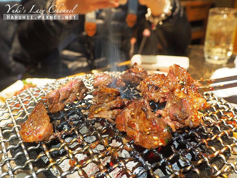 新宿燒肉推薦炭火燒肉一丁目25