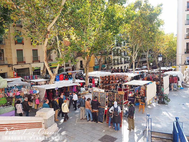 馬德里El Rastro跳蚤市場