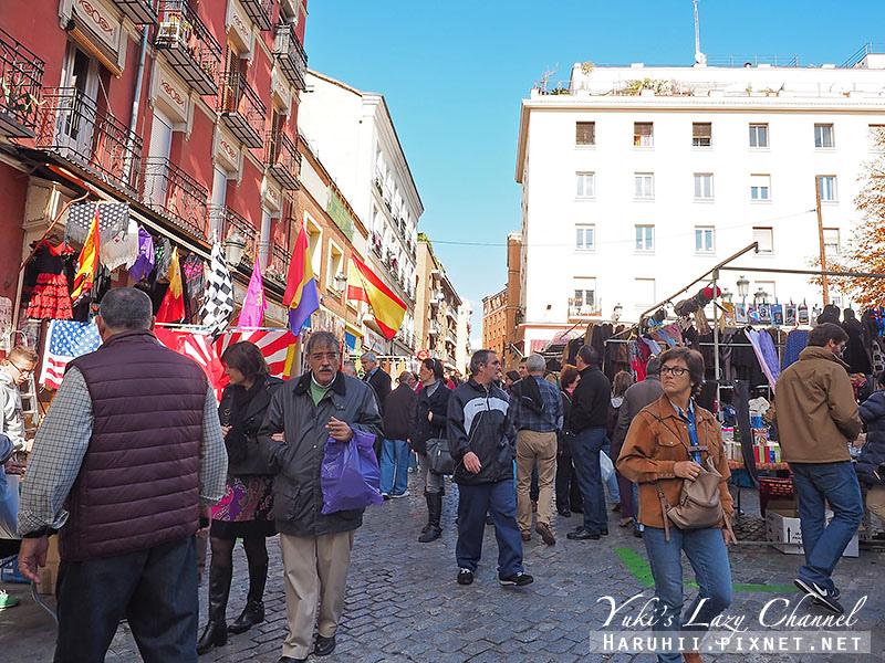 馬德里El Rastro跳蚤市場1