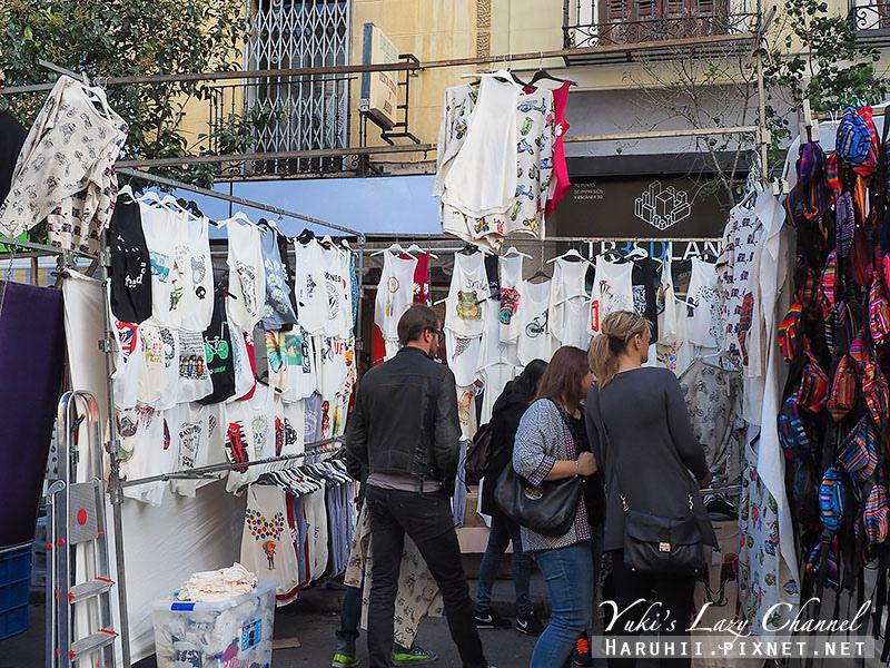 馬德里El Rastro跳蚤市場3