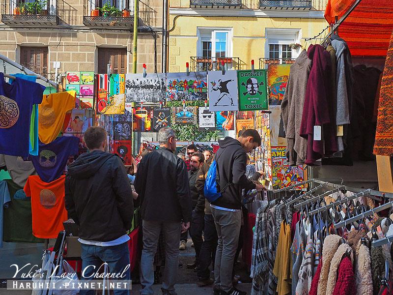 馬德里El Rastro跳蚤市場6